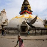 Sweep the Stupa